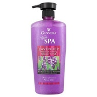 [ Halal certified ] Ginvera Real Spa Lavender Relaxing & Calming Shower Scrub 750ml