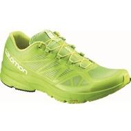 [陽光樂活=]SALOMON 男 SONIC PRO 越野跑鞋- L37849700 祖母綠x螢光綠