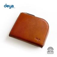 【deya】義式經典真皮RFID防盜零錢包