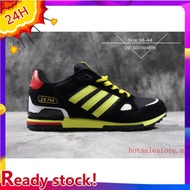 100%Original🌟Ready stock 8colors Adidas zx750 men's shoes casual sport sneakers Black Yellow