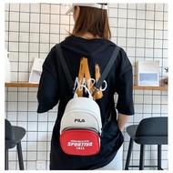 FILA 斐樂 雙肩包 小後背包 女包 單肩包 斜挎包 側背包 肩背包 旅行包 時尚休閒百搭款 15*12*22