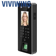 Viviwins Qianmei ZKTeco FA50 Dual HD Face Fingerprint Password Attendance Machine Access Control System US Plug