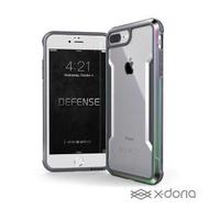 【x-doria】iPhone 6/6s/7/8 Plus 極盾SHIELD鋁合金防摔手機殼 - 繽紛虹(軍規防摔認證 MIL-STD-810G)