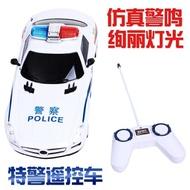遙控車 兒童電動遙控警車可充電遙控汽車1-2-3-4寶寶小男孩女孩益智玩具【星時代女王】