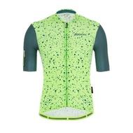 2021 Santini 【Delta晶岩】短袖車衣- 軍綠