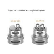 E-cigarettes▼❖Legit Geek Vape Zeus Dual 26mm Coil/Single Coil Leakproof RTA  (Straight Glass Versi