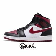 【NIKE】Air Jordan 1 Mid GS AJ1 男鞋 女鞋 喬丹 黑紅(554725-066) (palace store)