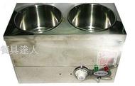 餐具達人【溫控歐式二洞魯菜桶(無法寄超商)】二洞菜桶/白菜魯保溫桶/隔水加熱保溫桶