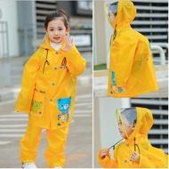 【Baby童衣】任選 兒童兩件式雨衣 雨衣雨褲套裝 88076(黃色)