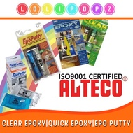 [Alteco] Clear Epoxy/3Ton Quick Epoxy/ 100g Epo putty Repair your broken toy or shoes in a min!