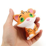 Squishy Tiger 8cm Slow Rising Soft Collection Gift Decor Cute Squeeze Toy