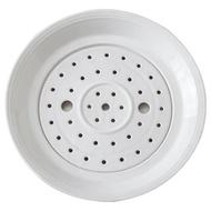 餐盤大號餃子盤瀝水雙層盤陶瓷水餃盤創意深盤子菜盤家用圓形托盤蒸盤