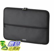 [7東京直購] Elecom 超衝擊吸收Ultrabook內袋 ZSB-IBUB03BK 11.6吋寬 適用 iPad Pro 12.9 / surfacePro2017·4·3)
