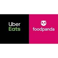 Uber Eats / foodpanda註冊簡訊代收