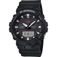 【CASIO 卡西歐】G-SHOCK 運動員記錄手錶-黑(GA-800-1A)