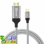 [7美國直購] Kimwood USB C to HDMI 4K 60HZ USB-C to HDMI Cable (Thunderbolt 3 Compatible) Galaxy