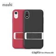 【moshi】Capto for iPhone XR 指環支架織帶保護殼