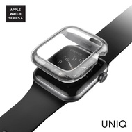 【UNIQ】Apple Watch Series 6/SE/5/4 44mm Garde全包覆輕薄透明防撞保護框(Apple Watch Series 4/5/6)