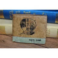 Japanese Anime  Death Note Attack on Titan One Piece Game OW Short Wallet With Coin Pocket Zipper Poucht Billetera