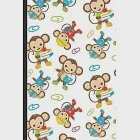 Notebook Journal: Time for School and Play with Monkey Friends and Paperclips Cover Design. Perfect Gift for Boys Girls and Adults of Al