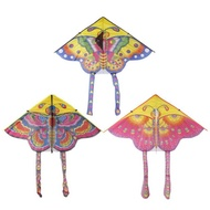 Huremwp BUYINCOINS 90cm Beautiful Colorful Traditional Chinese String Kite Without Butterfly