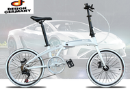 🔥SG Ready Stock🔥 Hito 20 Inch foldable bike (Aluminium) - Design Germany (Authorised Hito Distributor) 🛡️Within 7 Days Delivery🛡️