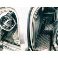 【數碼5D車配職人】數碼5D腳踏墊-皇冠菱花紋款 Mazda 6腳踏墊 CX-5腳踏墊 Mazda 3腳踏墊 CX-3