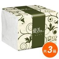 超值3箱 Livi 優活 單抽式柔拭紙巾300抽x30包入/箱 共90包 免運1250