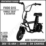 ★Fiido Q1S / Q1★ Electic Scooter with 2 seat/UL2272 (1 Year Warranty + Free Shipping)