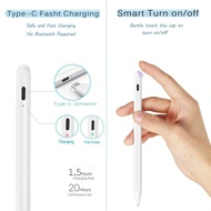 ✇✤Stylus Pen with Palm Rejection iPad Pencil For With 2018-2020 iPad Pro 11/12.9 iPad 8th/7th/6th Gen iPad Mini 5th Gen