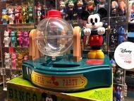Artlife @ TOMY BINGO PARTY DISNEY Mickey Game 米奇 搖搖彩球機 稀有老玩具