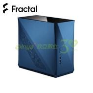 瑞典 Fractal Design Era ITX電腦機殼-鈷藍色 (ITX/玻璃上蓋/顯卡295mm/塔散127mm)