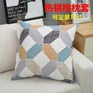 沙發全棉抱枕套不含芯靠墊套床頭靠枕套大靠背套60正方形客廳