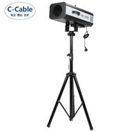 【 新品】促銷價C-Cable 舞臺led追光燈婚慶330w光束圖案追蹤燈大功率演出燈光
