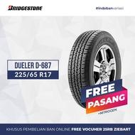 Ban Bridgestone Dueler D-687 225 / 65 R17 S