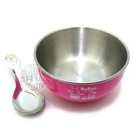 三光牌寶石香醇不鏽鋼兒童隔熱碗Y-205S ㊣304不銹鋼碗+蓋+湯匙組 兒童餐具 學習碗【百年老店】