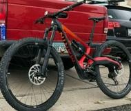 29er full suspension mountain bike