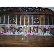 BTS Idol funko pop set
