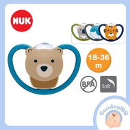 NUK Space Silicone Soother / Baby Pacifier Orthodontic Shape (18-36m) - 2 Pcs/Box