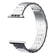 CRESTED 44 มม./40 สเตนเลสสตีลสำหรับสายคาด Apple Watch 42 มม./38 มม.นาฬิกาเครื่องประดับสำหรับ 4/ 5/3/2/1