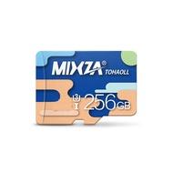 MIXZA Colorful Edition 256GB U3 TF Micro Memory Card for Digital Camera TV Box MP3 Smartphone