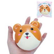 Squishy Puppy Bun Slow Rising Toy With Packaging Cute Animals Collection Decor Toy