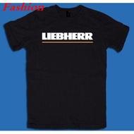 เสื้อยืดลายโลโก้ liebherr โลโก้แฟชั่น