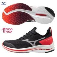 【全館滿額88折】MIZUNO WAVE RIDER 24 NEO 女鞋 慢跑 ENERZY 襪套 G3大底 黑粉【運動世界】J1GD207802