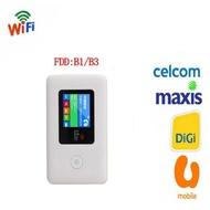 4g Wifi Router with Sim Card Slot Mifi Unlocked Broadband Hotspots for Travel