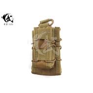 (武莊) 現貨 手槍+步槍快拔彈匣袋 MOLLE系統 M4彈匣袋 沙色