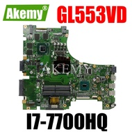 GL553VDเมนบอร์ดแล็ปท็อปสำหรับAsus ROG GL553VD FX53VD ZX53V GL553VW GL553VETest Original Mainboard I7-7700HQ GPU