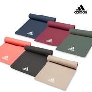 【adidas 愛迪達-雙12限定】Yoga 輕量波紋瑜珈墊-8mm(共三色)
