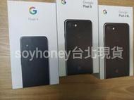 台北現貨 Google Pixel 3 3a 4 64GB 128GB XL全新盒裝未拆 黑、白兩色 可當日面交