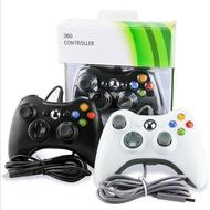 XBOX360有線手柄 控制器 主機遊戲PC電腦遊戲配件 帶震動 Xbox One手把 遊戲機手柄17488